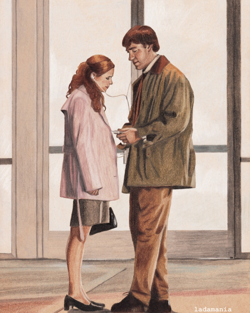jim and pam from the office – ladamania!